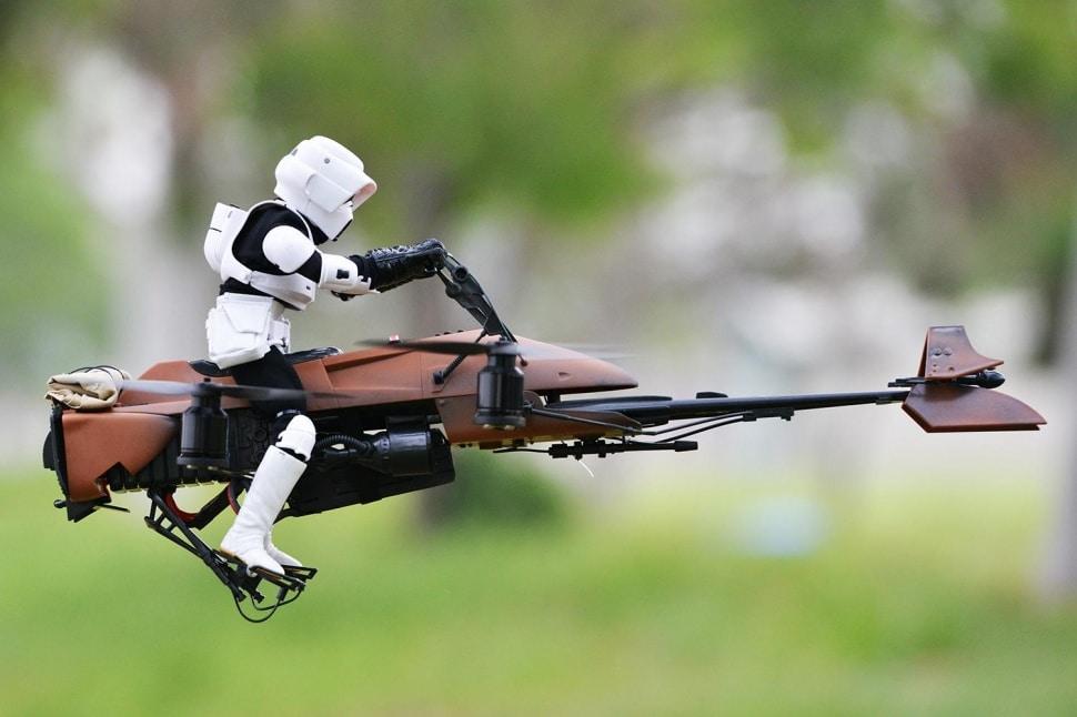 Un fan customise son drone