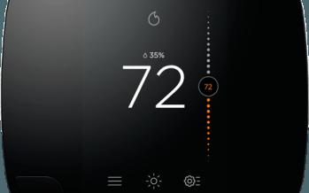 EcoBee un thermostat et des petits modules