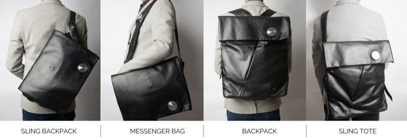 HiSmart le sac à dos connecté qui change de configuration et aux fonctionnalités avancées