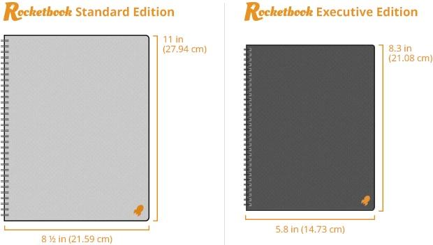 Rocketbook le cahier qui s'efface au micro ondes et qui numérise vos notes