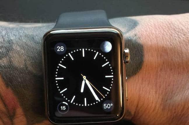 Apple Watch heure