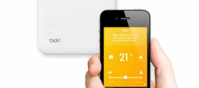 thermostat connécté TADO
