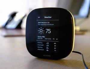 Ecobee le thermostat connecté pour réduire nos factures