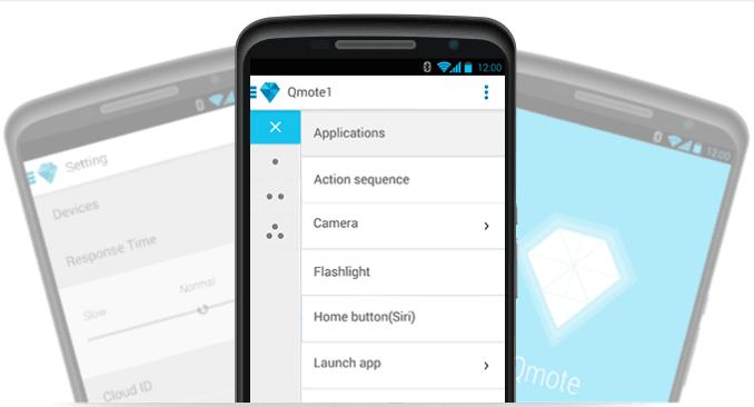 Qmote est une télécommande pour votre smartphone et votre maison