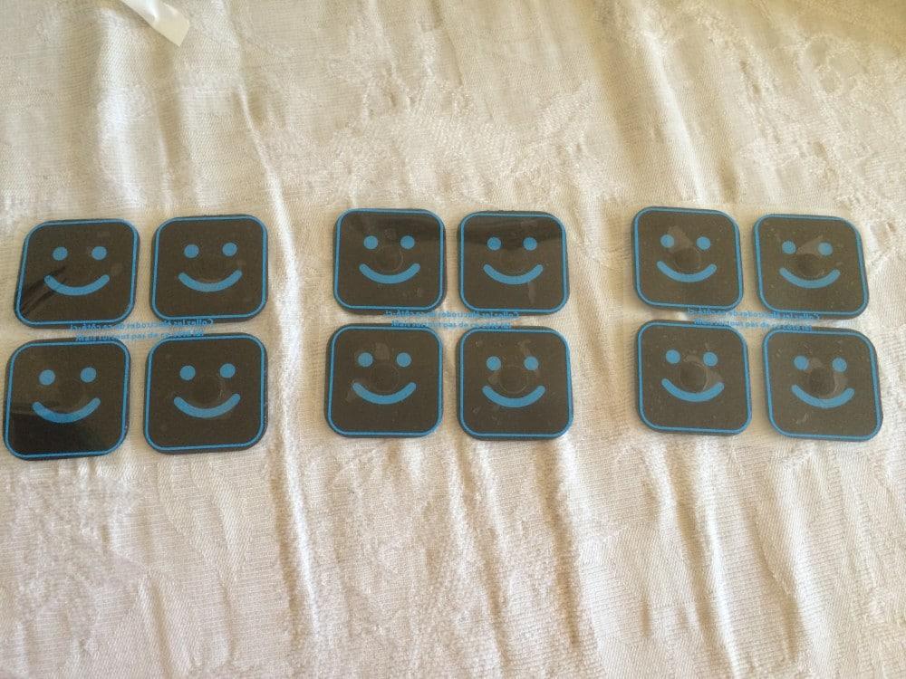Bluetens Electrodes en jeu de 3x4