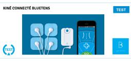 Test du Bluetens : un kiné à domicile !