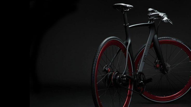 Le premier vélo connecté au monde de chez Van Hawks