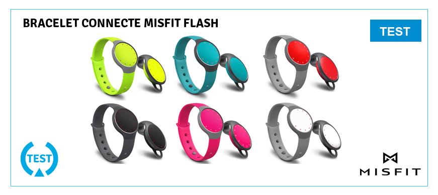 Test Misfit Flash - bracelet connecté