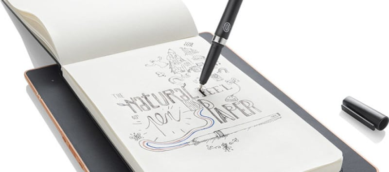 stylo connecté slate cahier connecté dessin connecté