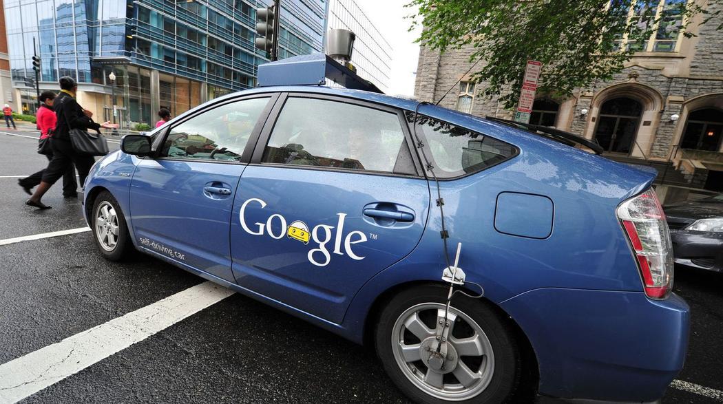 Google Car en essaie aux Etats-Unis