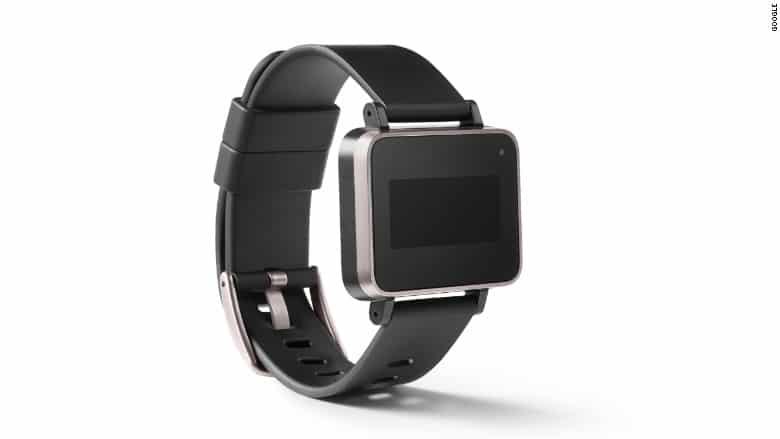 bracelet connecte google noir