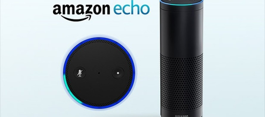 amazon lance echo son assistant vocal pour maison connect e. Black Bedroom Furniture Sets. Home Design Ideas