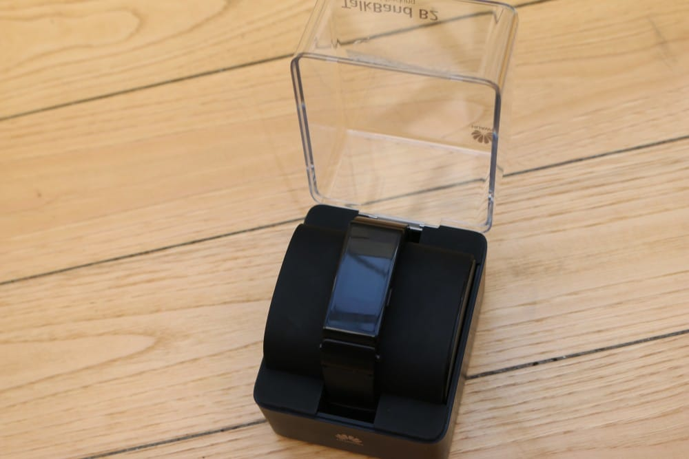 Jawbone UP3 vs Huawei Talkband B2 unboxig