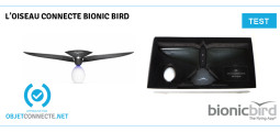 Test du Bionic bird, l'incroyable oiseau connecté français !