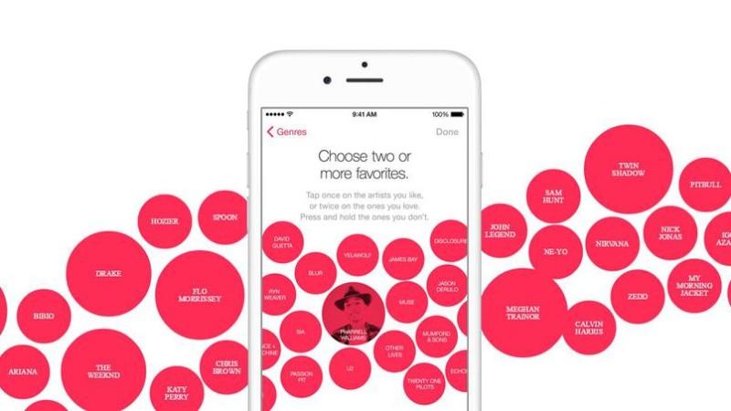 Apple musique application