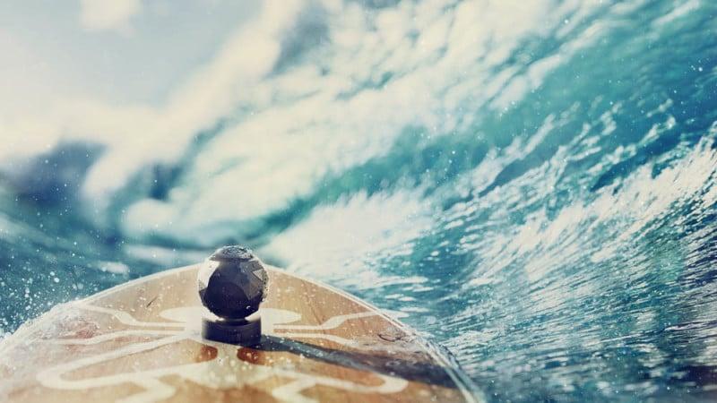 camera embarquée planche surf