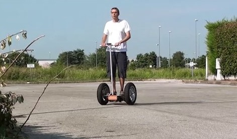 gyropode open wheel- robots for good