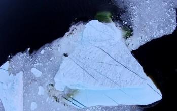[Flash] Un iceberg s'effondre sous le regard d'un drone