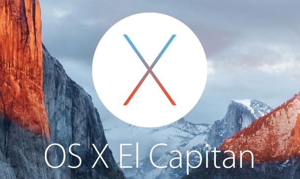Apple OS X Mise à jour