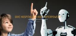 Robots for good : un rayon de soleil pour les enfants hospitalisés