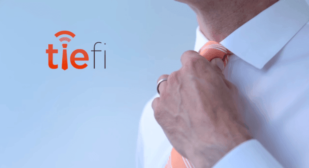 tiefi cravate hospot wifi
