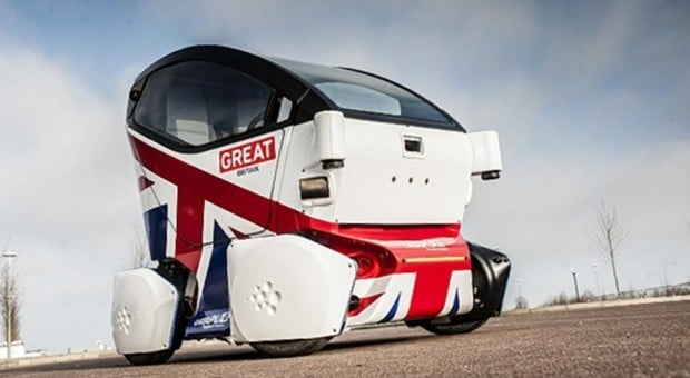 voiture autonome uk