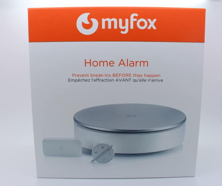 MyFox home alarm unboxing devant
