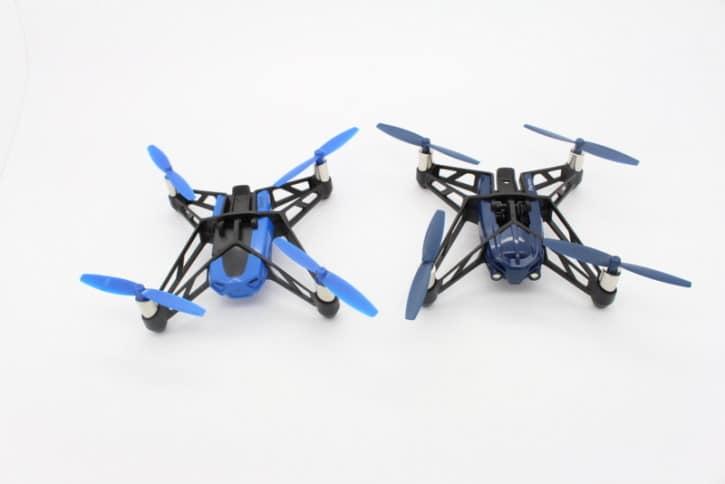 Rolling Spider à droite, Airborne à gauche