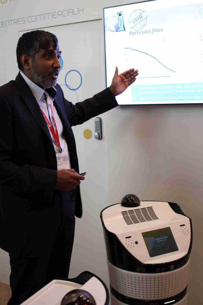 Ramesh Caussy, Président et Fondateur de Partnering Robotics