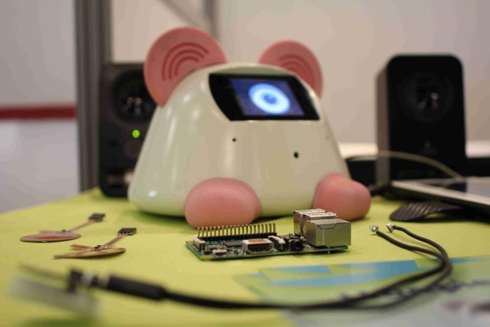 robot reconnaissance vocale haapie