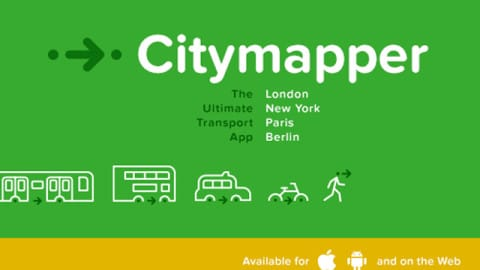 citymapper top applications apple watch