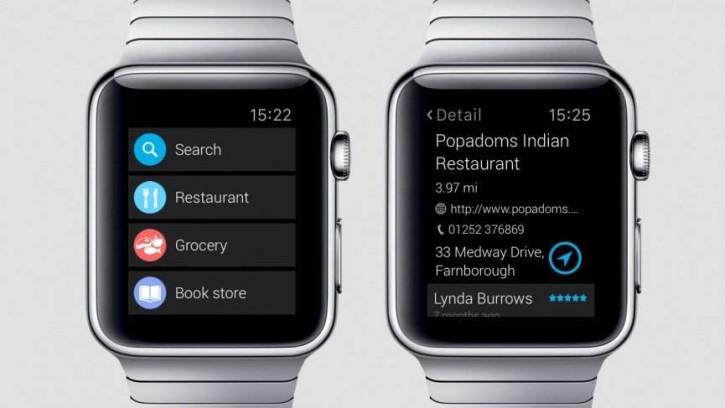 find near me top applications apple watch