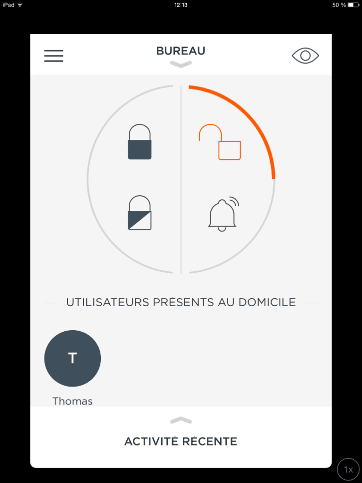 MyFox Home Alarm application