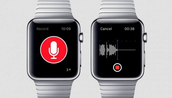 just-press-record-top applications apple watch