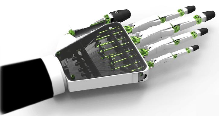 main bionique impression 3D