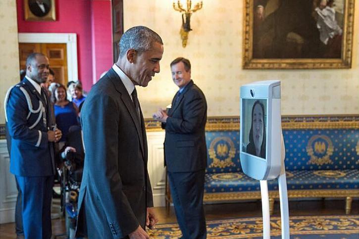 obama telepresence maison blanche