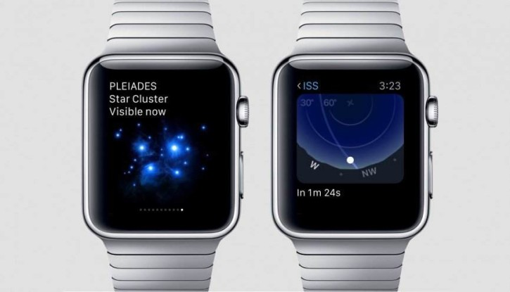 Sky Guide top applications apple watch