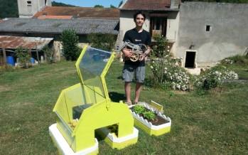 Eliott, 14 ans et son robot jardinier repérés par Google