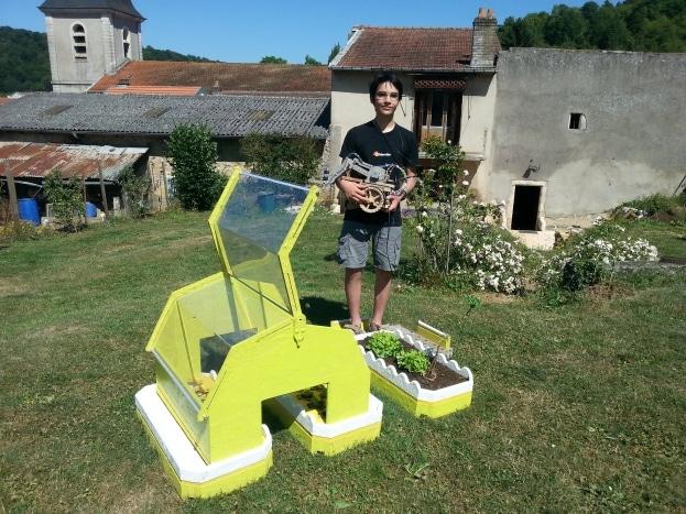Eliott Sarrey, l'inventeur de Bot2karot