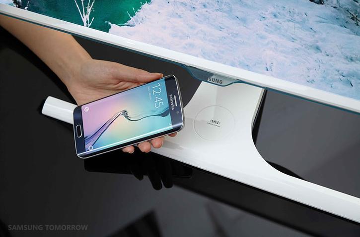 Le Samsung SE370 recharge votre Samsung Galaxy S6 sans fil