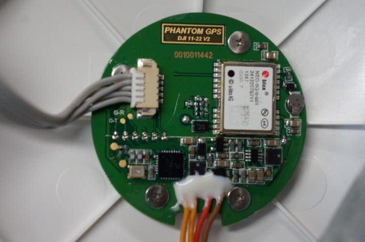 drone Phantom GPS