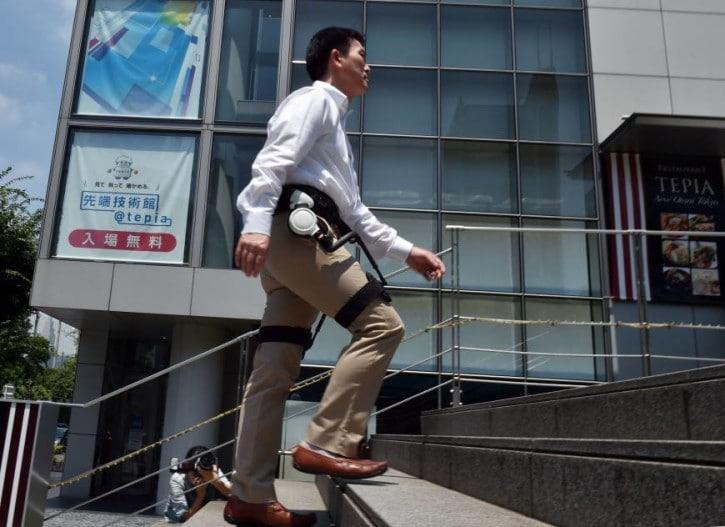 L'entreprise japonaise Honda va bientôt mettre en location ses exosquelettes
