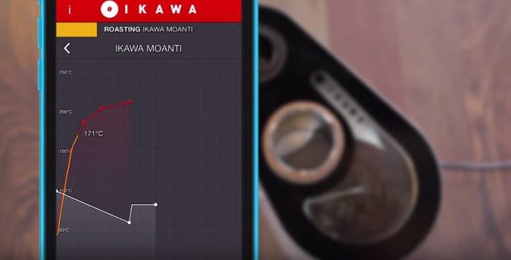 L'application IKawa vous informera quand votre café est prêt