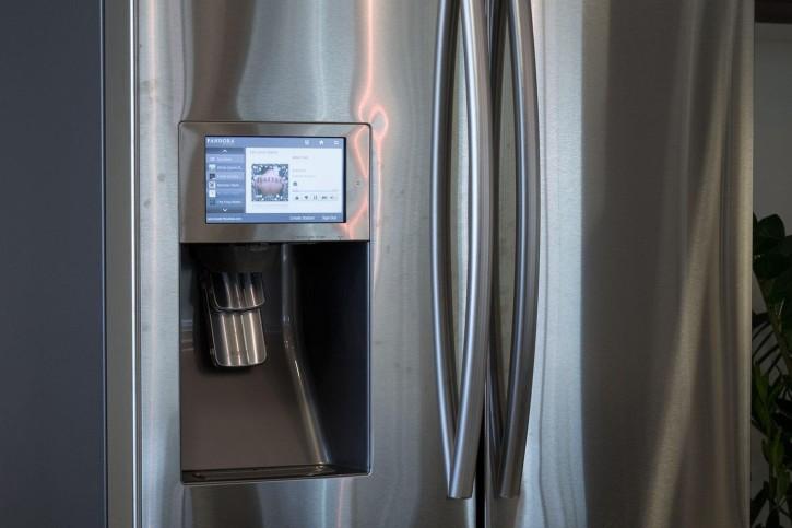 L'écran du réfrigérateur Samsung est piratable