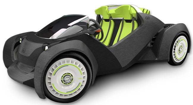 La strati, voiture entièrement imprimée, bientôt commercialisée ?