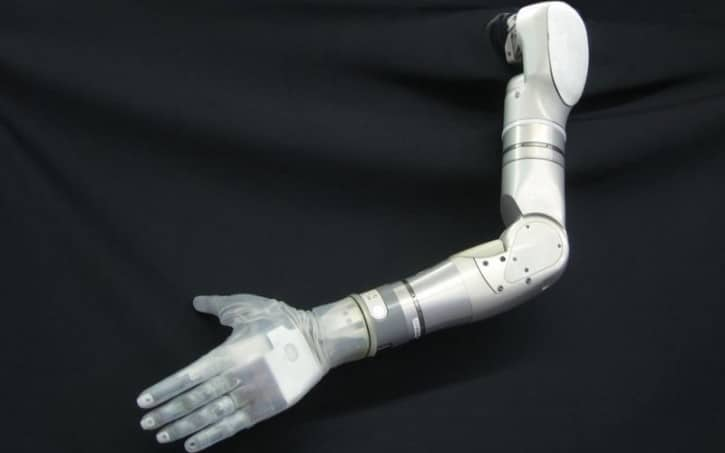 Prothèse main DARPA