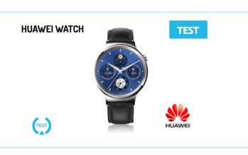 [Test] La montre connectée Huawei Watch