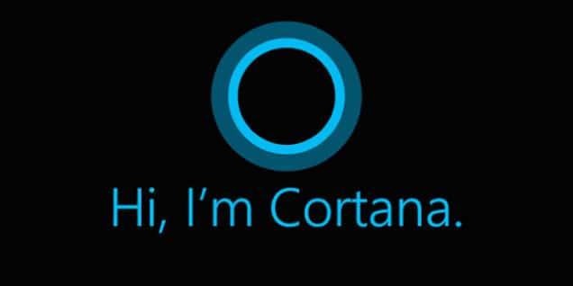 Cortana Microsoft reconnaissance vocale