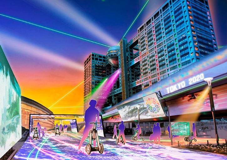 Japon village connecté JO 2020