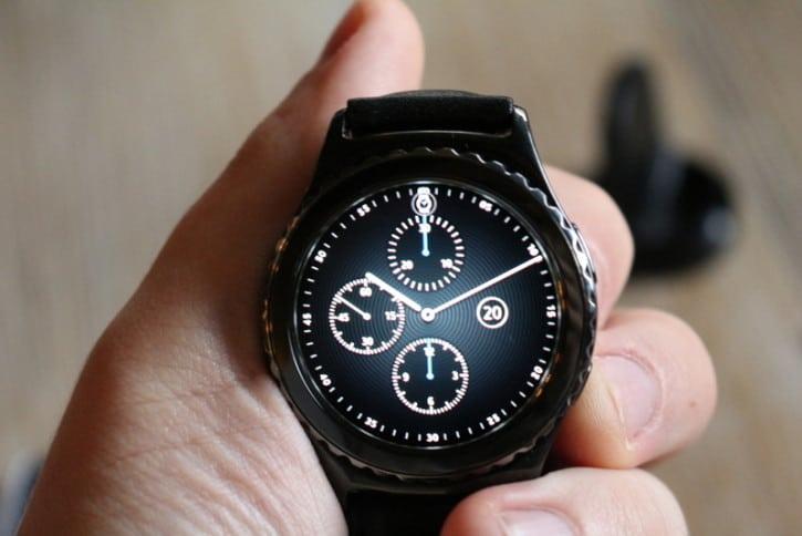 Cadran de la montre connectée Samsung Gear S2